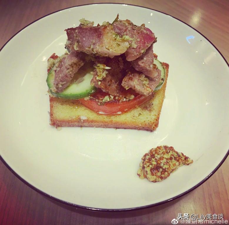 陈妍希分享的低碳减脂餐 网友:难怪又瘦又美