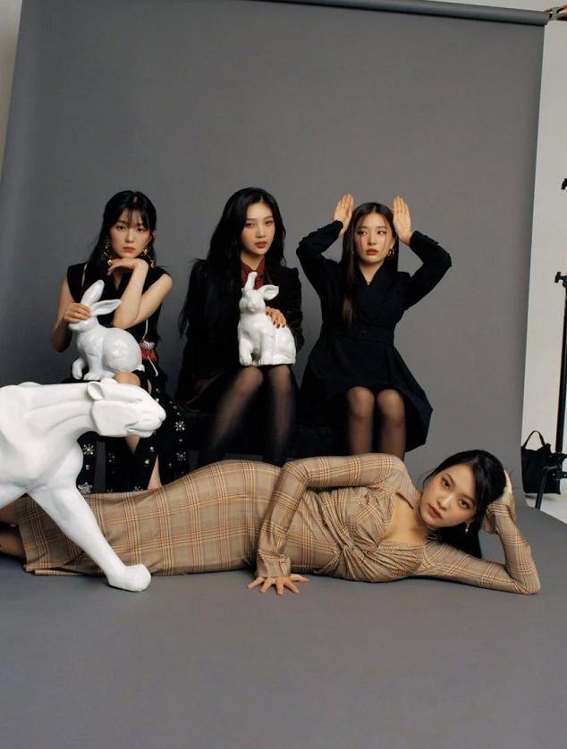 SM公布Red Velvet合照,Irene不再是C位