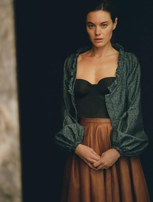 法国女孩就是懂时尚?超模麻豆慵懒的性感feel