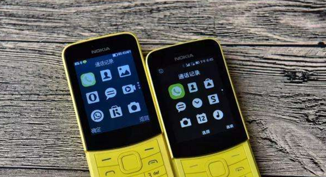 诺基亚经典手机上重归:800mAh充电电池 4MB运行内存