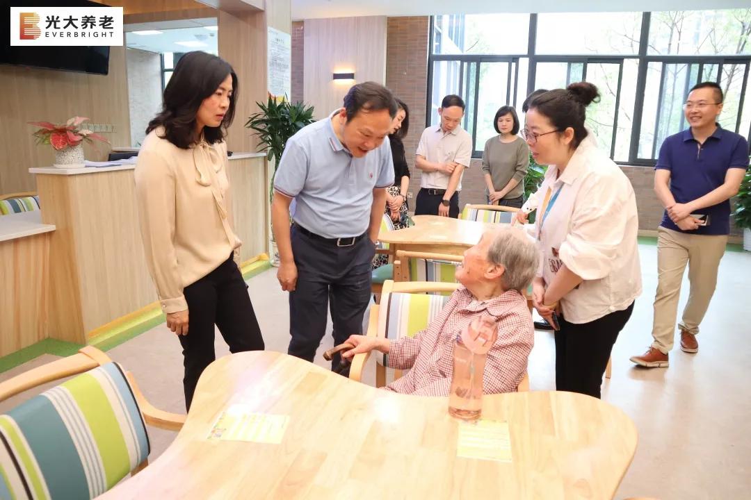 光大百龄帮·渝北区龙兴镇养老服务中心试营业