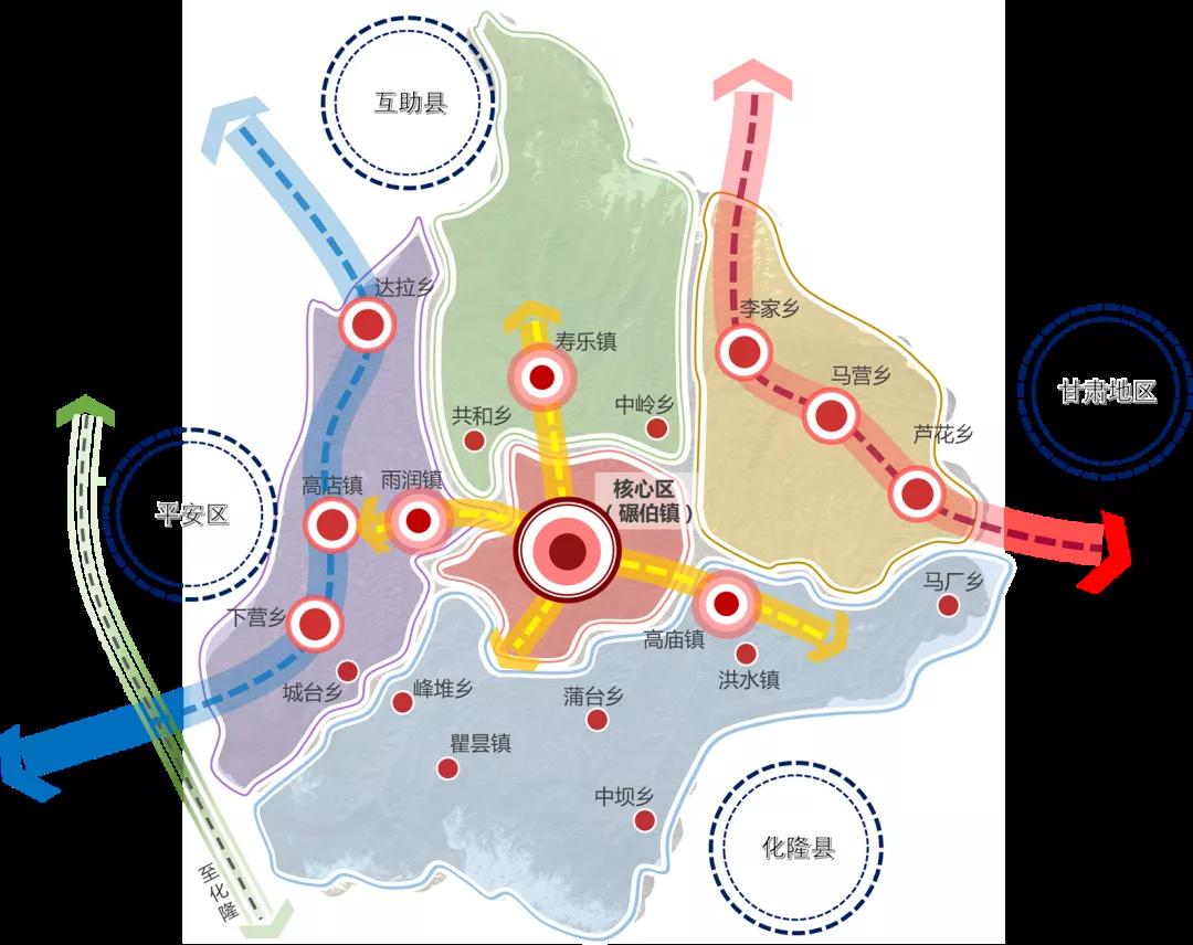 海东市乐都区国土空间规划(2020年-2035年)及乡镇村空间规划