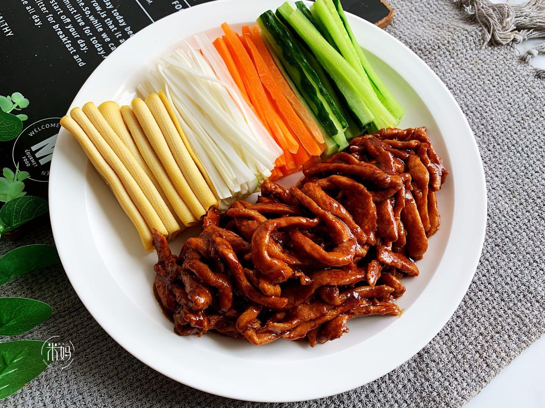 京酱肉丝做法步骤图肉丝嫩滑比鱼香肉丝还好吃