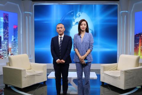 企业家词源教育有限公司董事长洪淑华走进《对话品牌》