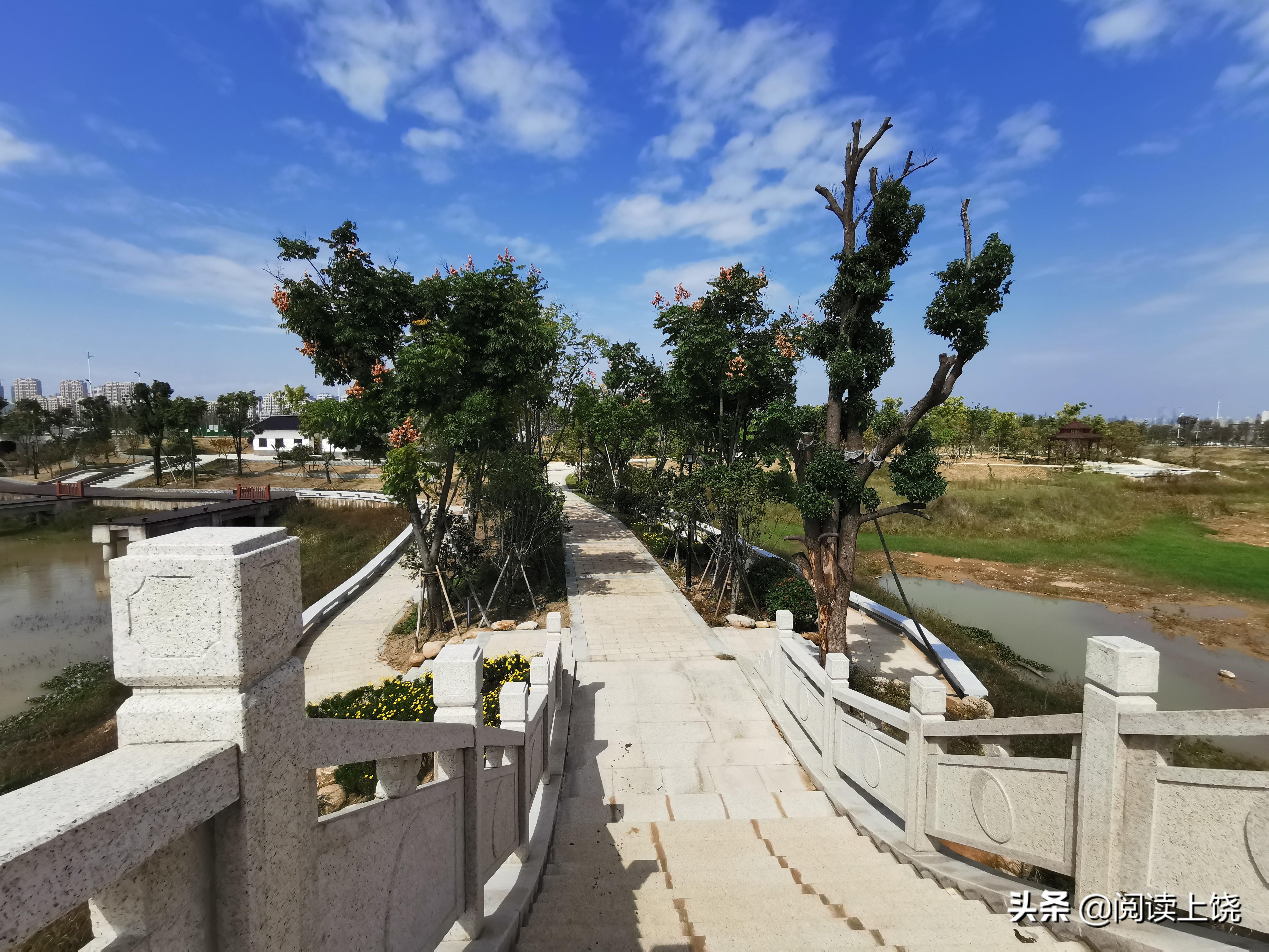 上饒三江導托渠水渠7公里設置了7個碼頭 步道14公里全部完工