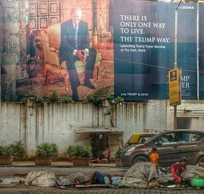 34张罕见的城市照片,印度穷人与富人只隔一条街,却永远无法翻越