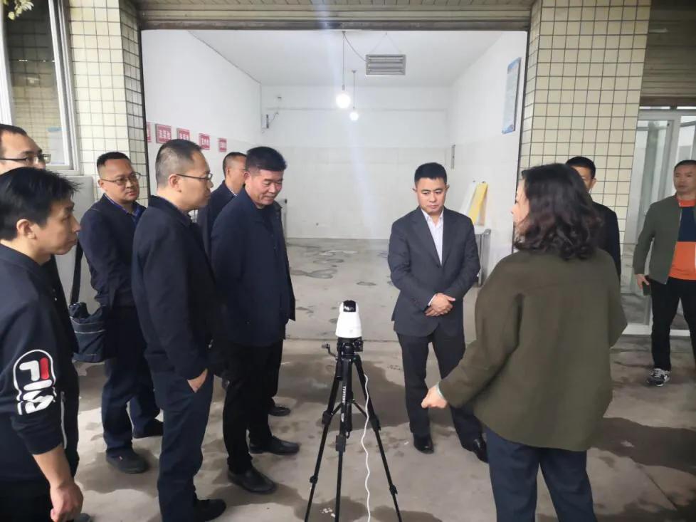 新都区刘怒海调研冷链食品安全及示范城市创建