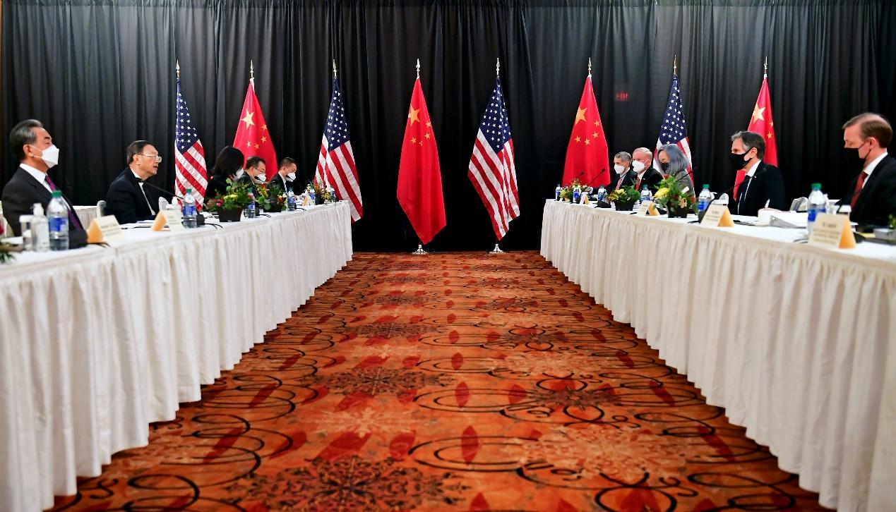中美高层第3次会晤低调启动,白宫如愿以偿?中方有言在先