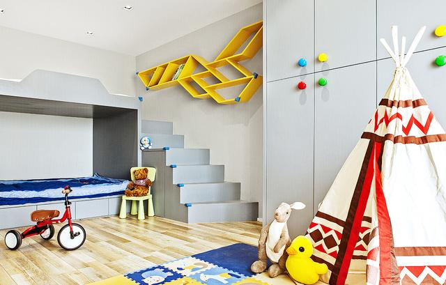 儿童房装修应该如何设计衣柜?这六款设计方案超实用