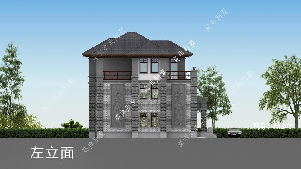 拥有复式大厅的中式别墅,即奢华又保存中式的韵味