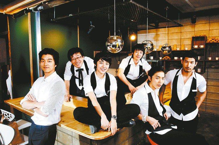 孔刘尹恩惠相隔13年再同框!全员合体拍《咖啡王子1号店》续集