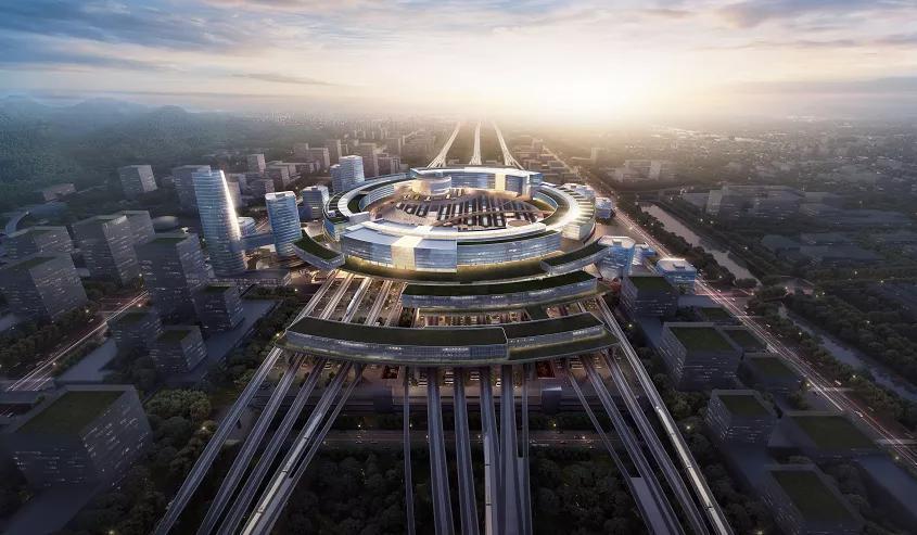 2021年市政府工作报告中的江北新区