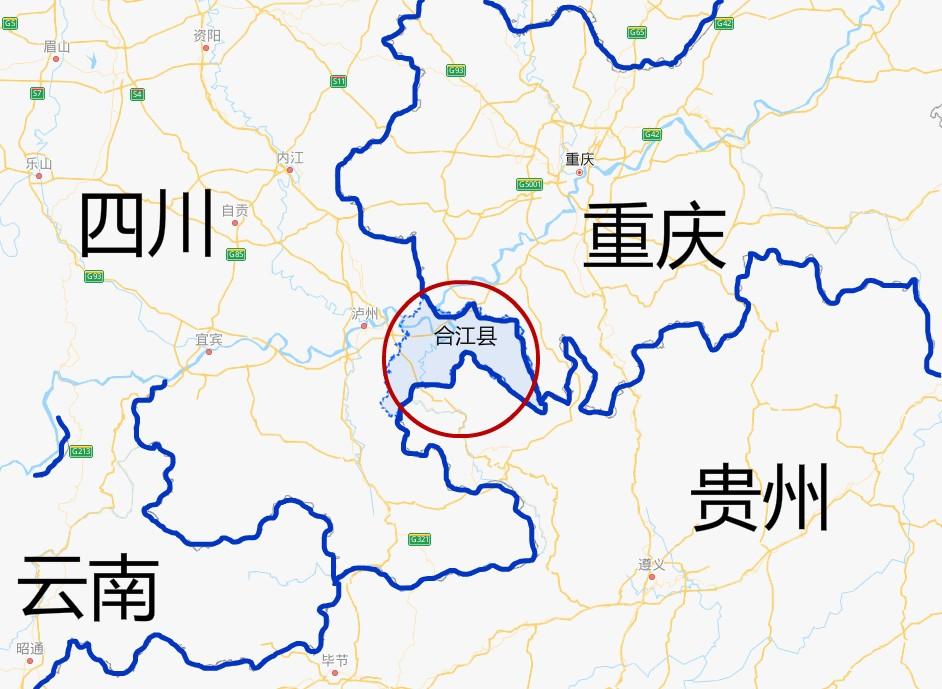 """四川一县,被重庆、贵州""""三面包围""""!村里人出村就是跨省"""