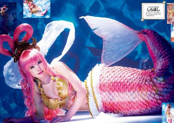 海賊王與花花公子雜志聯動,Enako參與角色扮演,還原佩羅娜