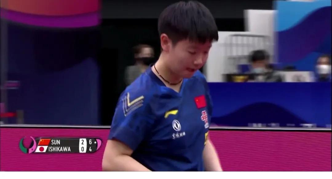 恭喜,孙颖莎4-0石川佳纯,陈梦张安晋级四强,有望包揽冠亚军