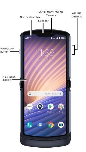 摩托罗拉手机伸缩5G手机上曝出,选用后置摄像头指纹识别