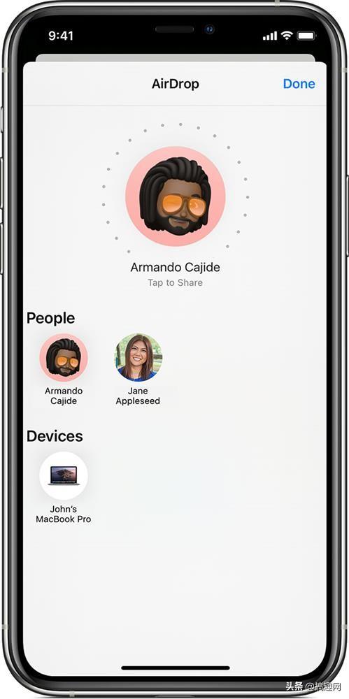 苹果手机隔空投送怎么用(在地铁上总是有人发隔空投送)