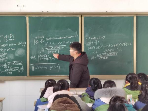江苏阜宁县第一高级中学五名实习生的亮丽风采