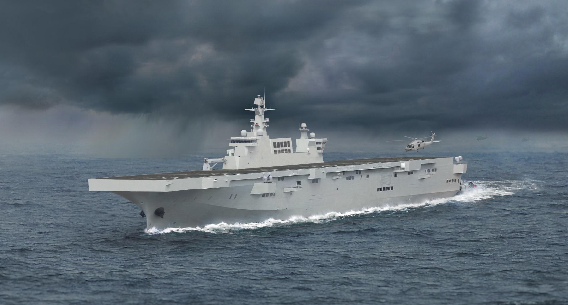 中国海军实力增速放缓?美专家呼吁面对现实,两艘航母正在新建