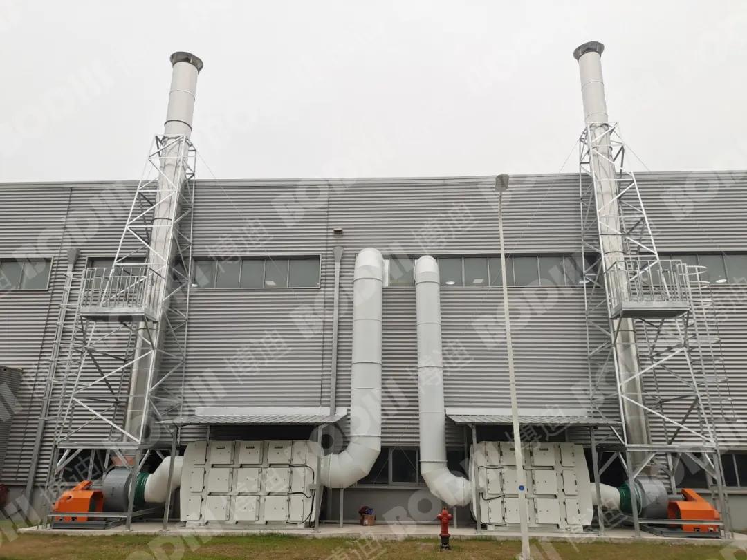 「工程案例分享」甲与壹集中油雾净化项目