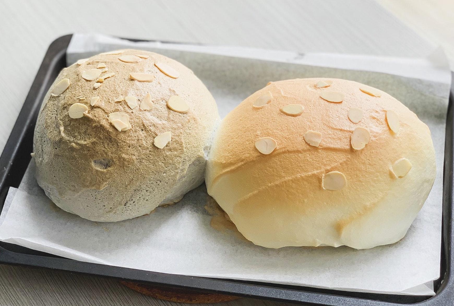 不要以为做面包就很复杂,3种材料1个烤箱快速做出网红云朵面包