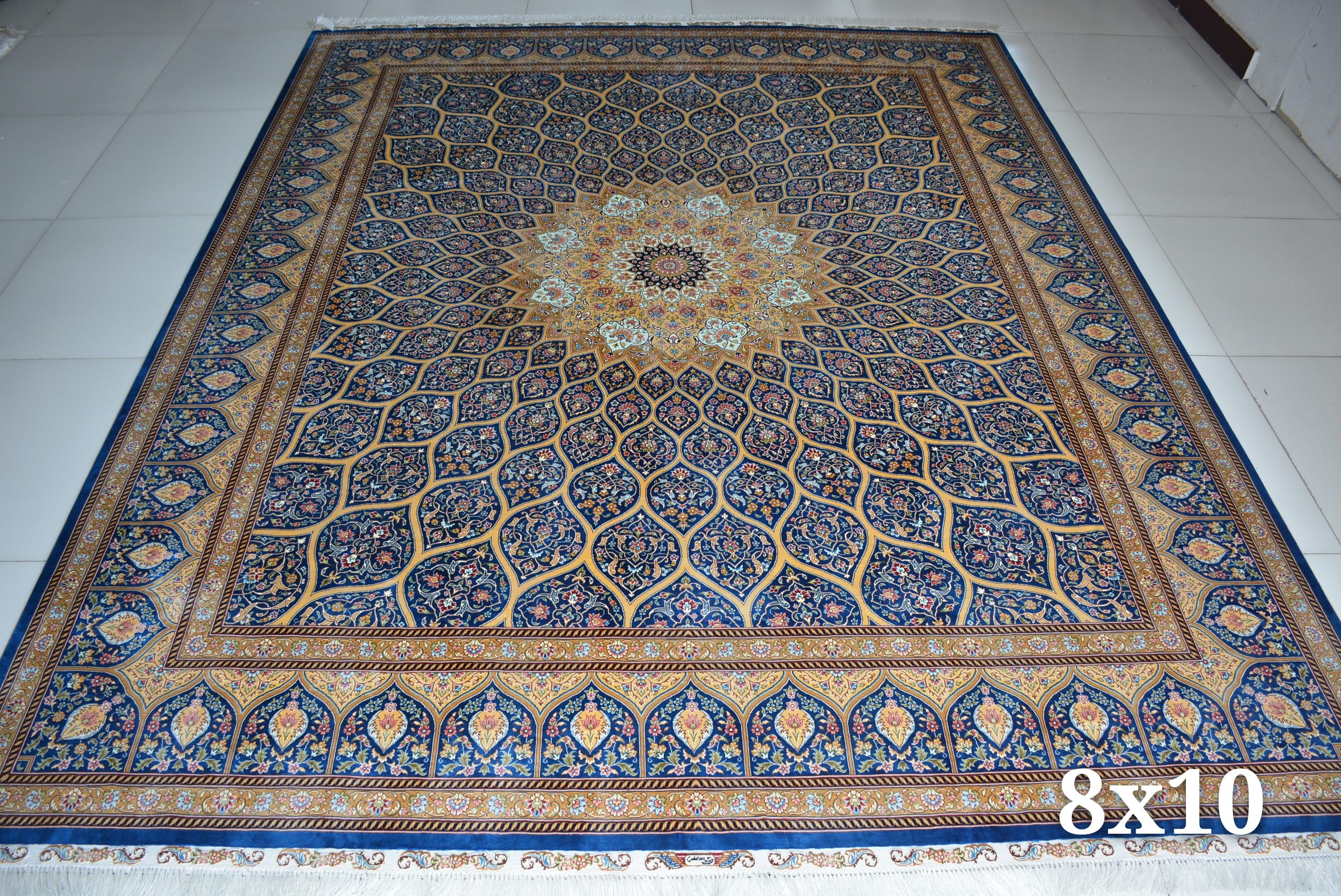 #亿丝手工艺真丝地毯#新品赏析