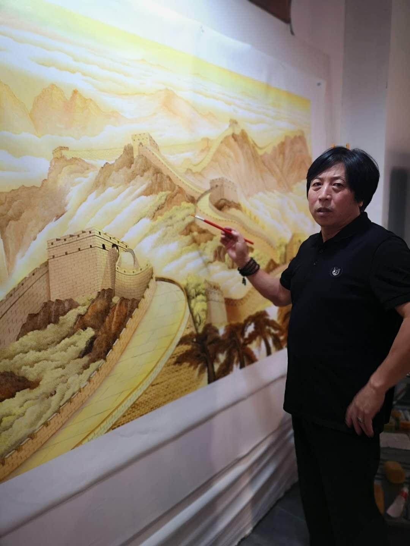 国家一级美术师王怀友