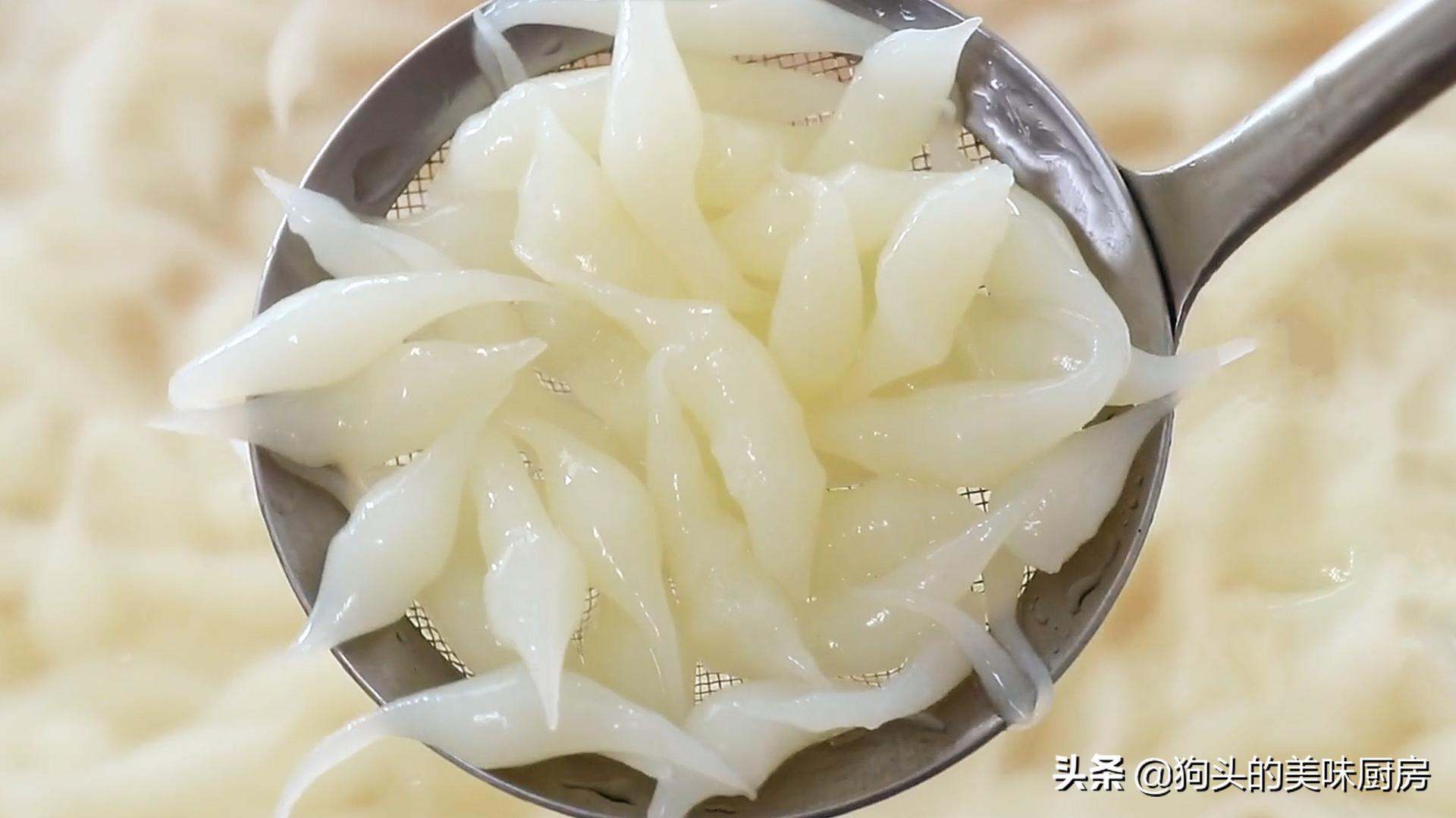 天热就喜欢吃它,6块钱一碗,自己也能做,筷子一搅,爽滑又筋道 美食做法 第1张