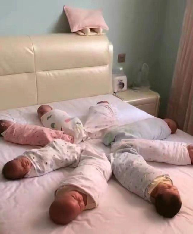 """【90后宝妈生下8胞胎,还没等高兴几天,带孩子却成""""世纪难题""""】图3"""