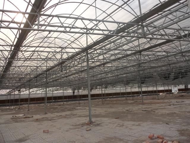 连栋温室大棚热镀锌骨架工艺以及优点