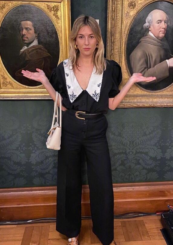 时博Camille出众在于永远不缺创意 而不是衣架子身材