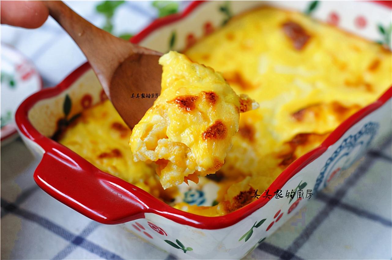 早餐不吃煎餅了,南瓜裡打入一個雞蛋,又鮮又嫩,比披薩還香