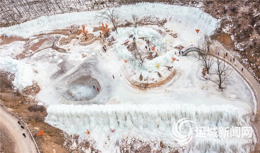 绛北大峡谷 冰雕玉砌的童话世界