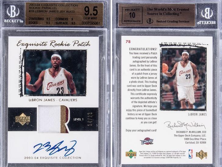 NBA球星卡最早只不过是香烟的赠品,如今却价值不菲动辄百万