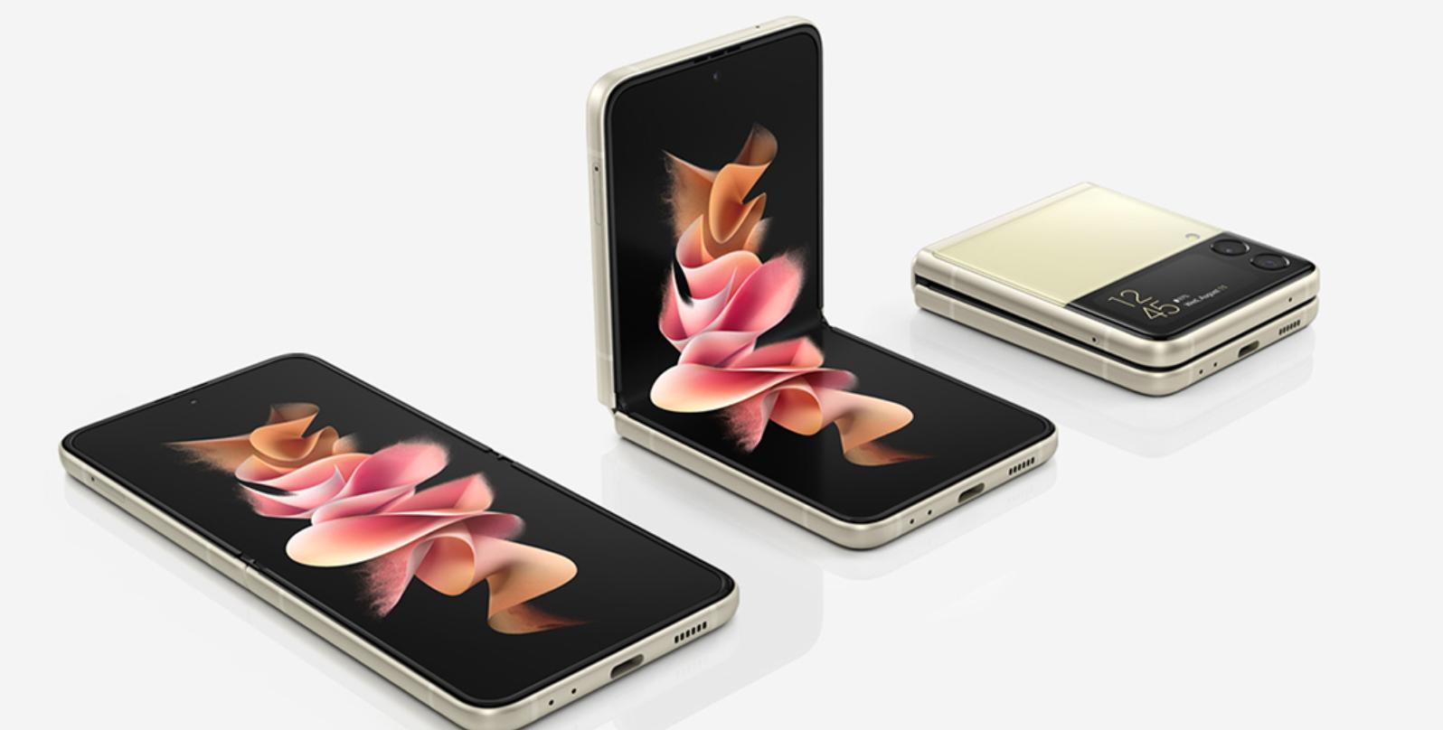 """三星Galaxy Z Flip3 5G尝鲜价8599!折叠后好像""""粉饼盒"""""""