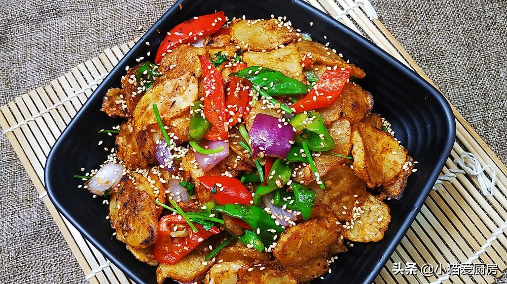 教你几道用土豆做的菜,味道特别好,觉得比肉香,下饭下酒都不错 美食做法 第1张