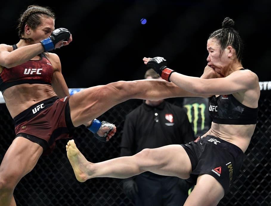 UFC女王舍甫琴科狂言:张伟丽肯定打不过罗斯,更没资格跟我打