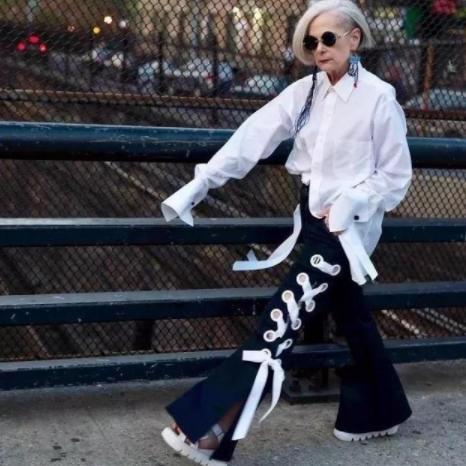 """老太太,给年轻人留条""""活路"""":对不起,你们对时尚真的一无所知"""