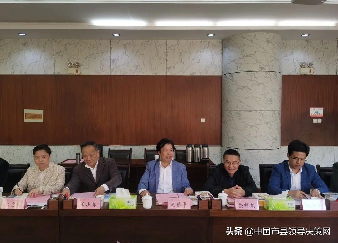 江苏阜宁县赴安徽工业大学开展产学研交流