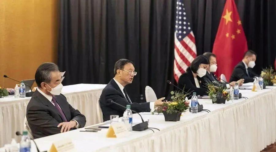 长诗:中国人不吃这一套——中美3.18会谈