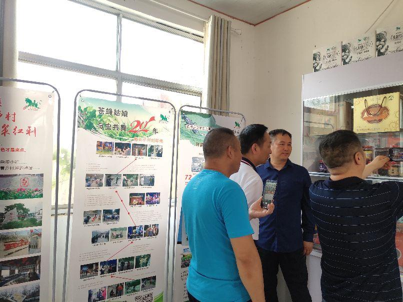中国农谷昆虫世界负责人李世军一行四人考察王泽铺昆虫小镇