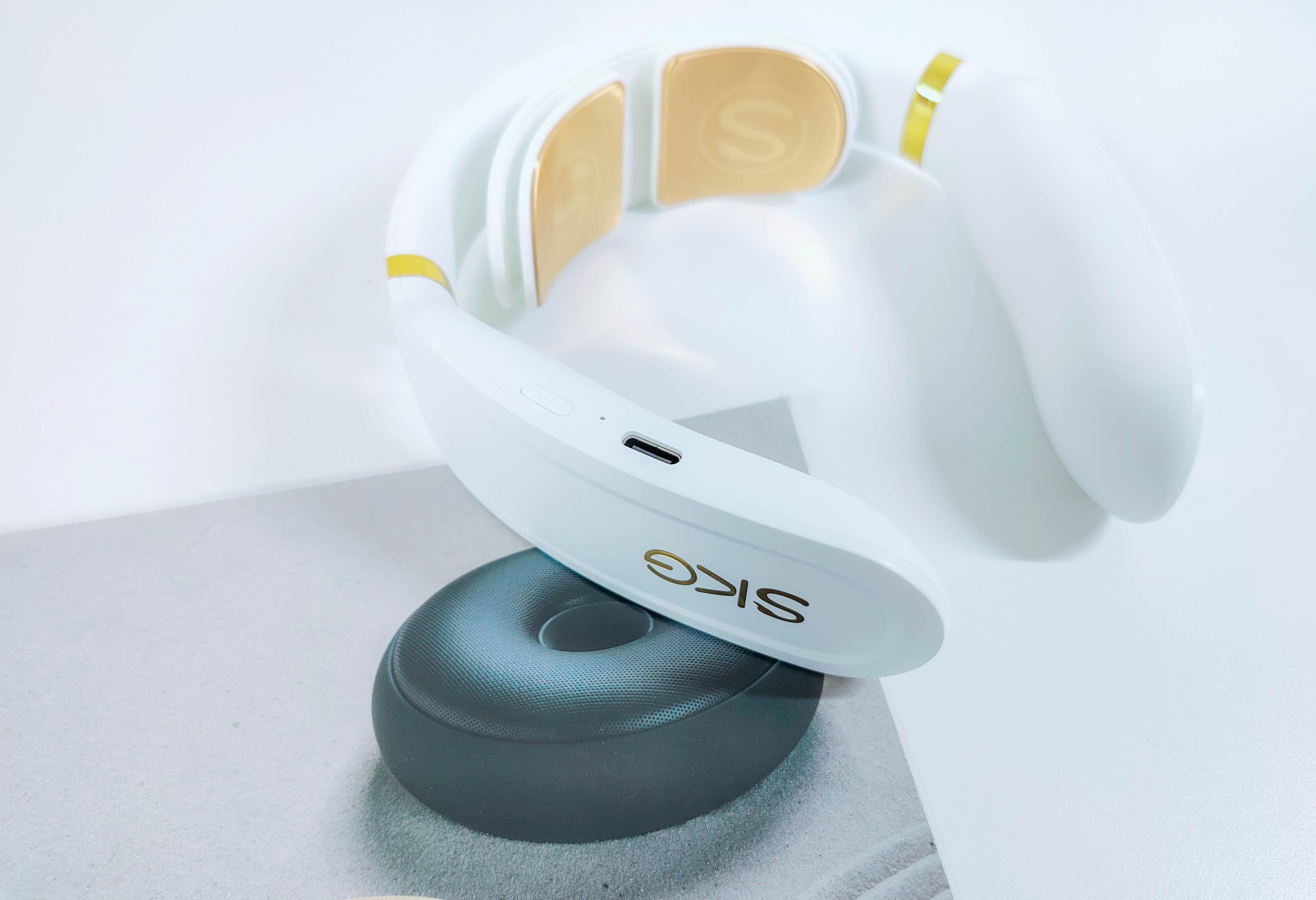 华为智选SKG智能颈椎按摩仪评测:双脉冲+三级浮动按摩头