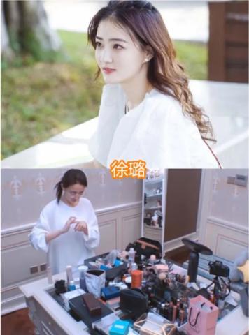 女明星化妆台,王鸥的整洁,赵丽颖杂乱,看到李浩菲:年轻真好