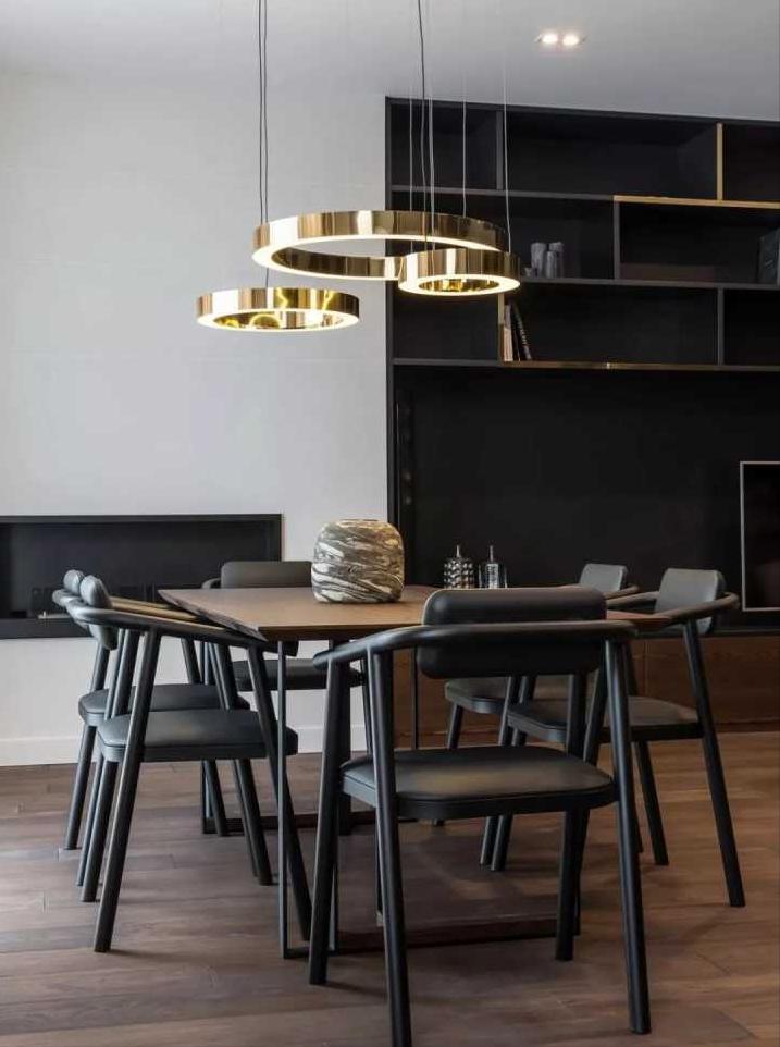 酷炫的暗色系空间设计,送你与众不同的家