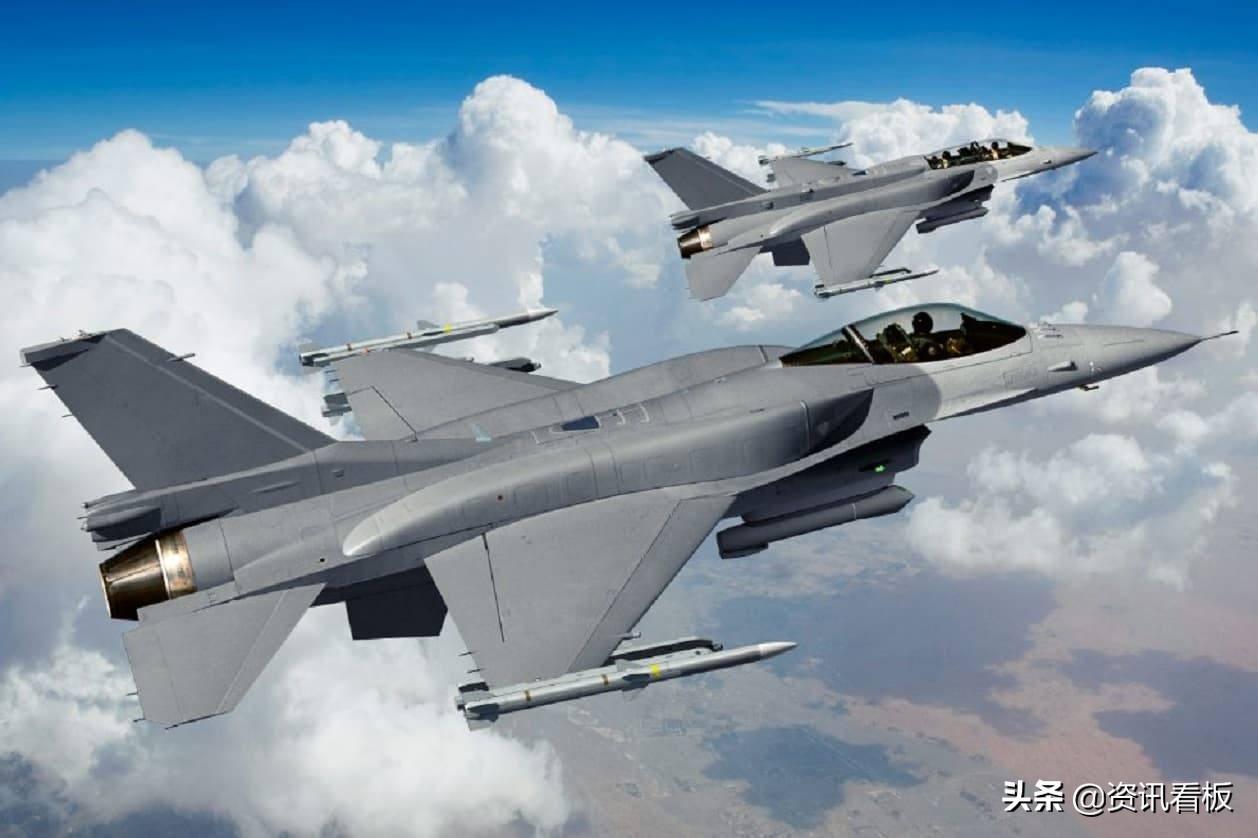 """""""重大突破""""!台军飞行员驾驶F-16V直飞美国,或是在模拟长途奔袭"""