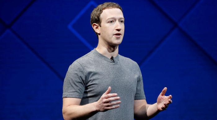 """全世界都在用的""""微信"""",Facebook(脸书)创始人:扎克伯格"""