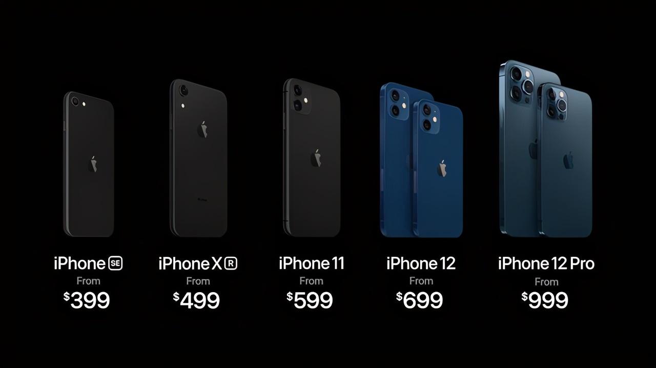 只要999美元起,iPhone 12 Pro价格出炉