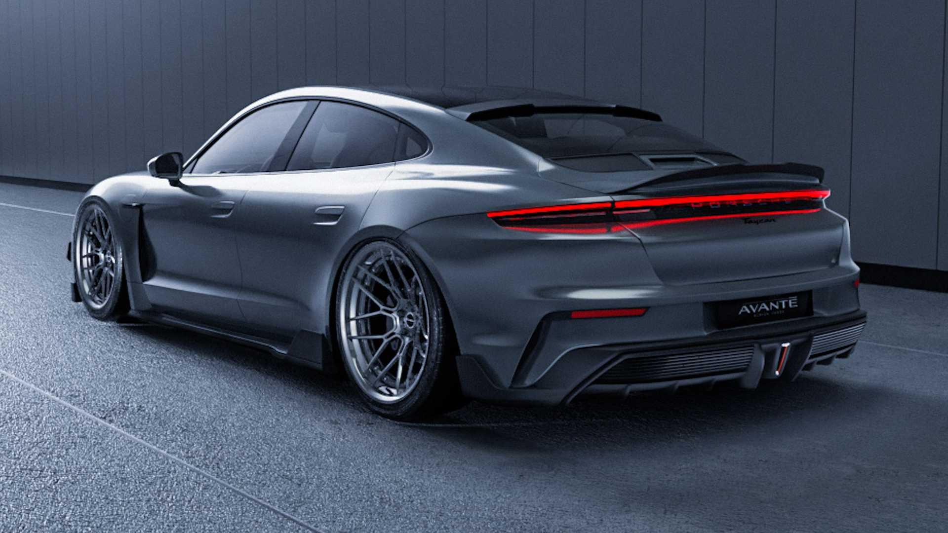 Avante Design:如何让一款德国纯电跑车散发日式JDM范儿?