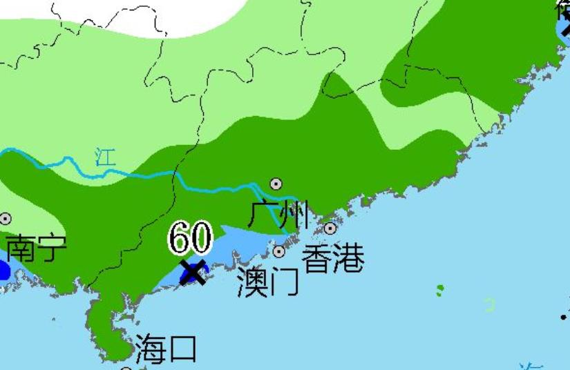 """确认了!广东将迎""""台风雨"""",中雨大雨暴雨将落在广东下列区域"""