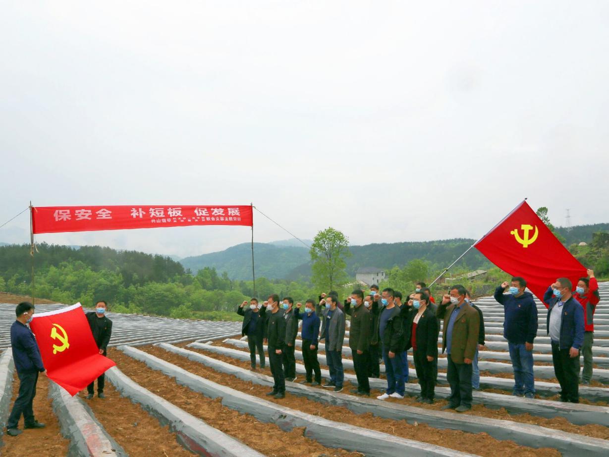 湖北兴山精心策划党建活动 为农贸经济重振信心